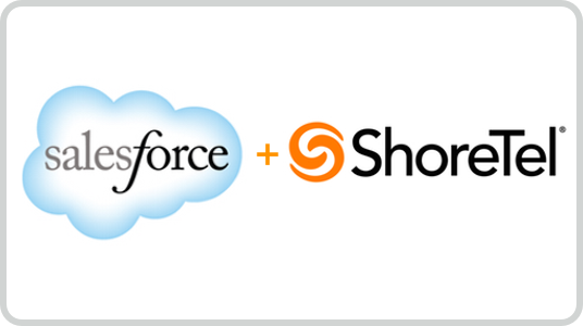 salesforce and ShoreTel CRM and Phone integration