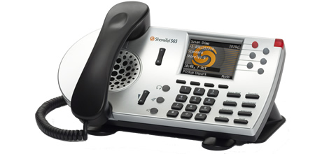 ShoreTel IP Phone 565g for Unified Communications and IP Telephony