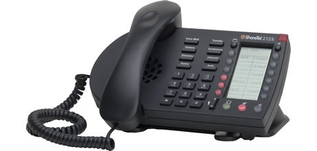 ShoreTel IP Phone 212k for Unified Communications and IP Telephony